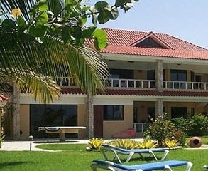 Luxury Villa with Apartments and Guesthouse directly on the beautiful Beach of Cabarete