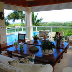 Very large oceanview villa in superb gated community