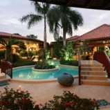 Caribbean mansion in a prestigious beachfront community