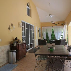 Nice five bedroom villa with guesthouse close to the beach – Cabarete