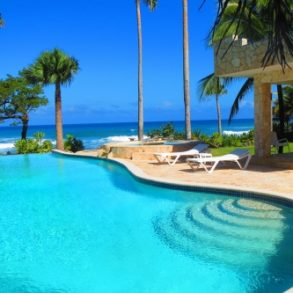 Luxury Ocean Front Villa in Cabarete