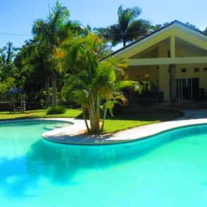 Villa close to the beach in gated beachfront community