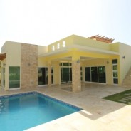 New built modern villas in gated oceanfront project