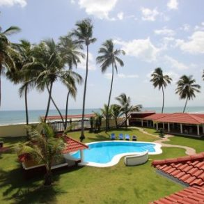 Beautiful beachfront villa with separate guesthouse near Cabarete