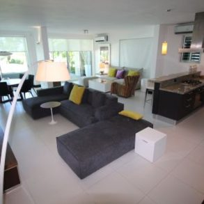 Spectacular Modern Beachfront Apartment with 3 Bedrooms