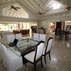 Exclusive residence in popular gated beachfront enclave