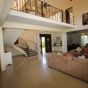 Impressing two storey villa with 6 bedrooms close to the beach