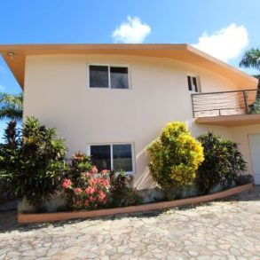 Charming Sosua mansion with a large lot and ocean views